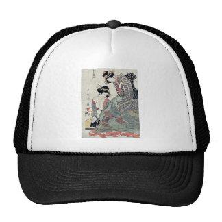 Summer by Utamaro II, d. Ukiyoe Trucker Hat