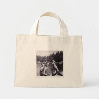 Summer Camp Girls Mini Tote Bag