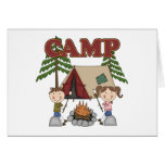 Summer Camp Greeting Cards