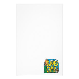 Summer Camp Personalized Stationery