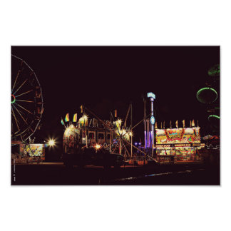 Summer carny nights art photo