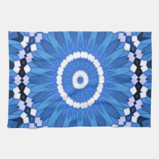 Summer Celebration (blue) Tea Towel
