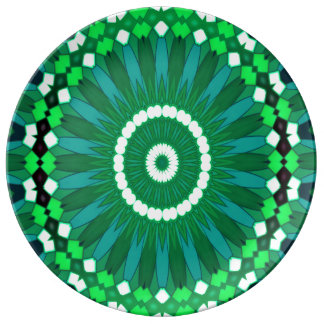 Summer Celebration (green) Plate