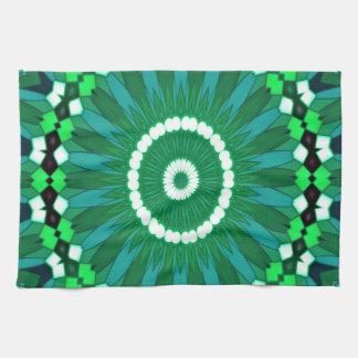 Summer Celebration (green) Tea Towel