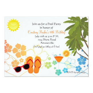 Summer Chillin' Invitation