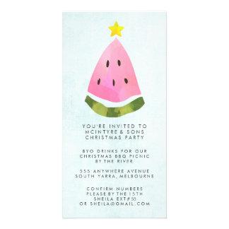 Summer Christmas Xmas Work Staff Party BBQ Card