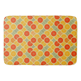 Summer Citrus Bath Mat Bath Mats