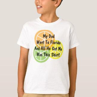 Summer Citrus - Dad Went To Florida - T-Shirt