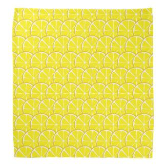 Summer Citrus Lemon Bandanna #2