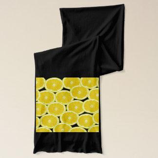 Summer Citrus Lemon Slices Scarf Wraps