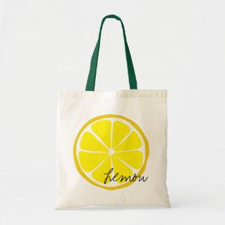 Summer Citrus Lemon Tote