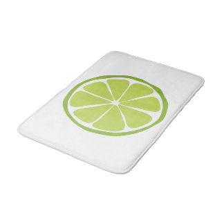 Summer Citrus Lime Bathmat Bath Mats