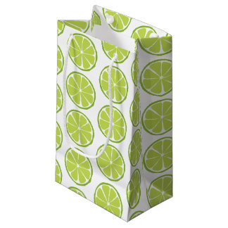 Summer Citrus Lime Gift Bag - SM/MED/WINE