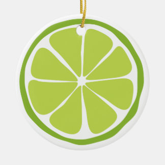 Summer Citrus Lime Ornament