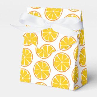Summer Citrus Orange Favor Box