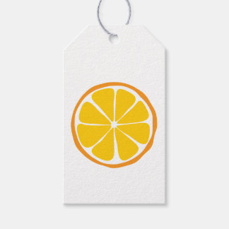 Summer Citrus Orange Gift Tags