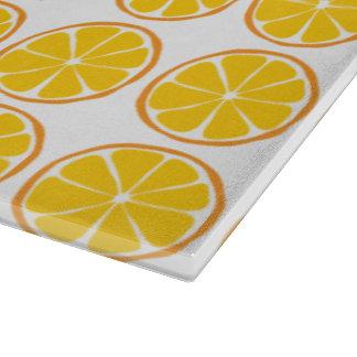 Summer Citrus Orange Glass Cutting Board