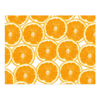 Summer Citrus Orange Slices Postcard