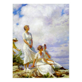 Summer Clouds by Charles Courtney Curran Postcard