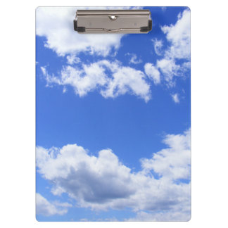 Summer Clouds Clipboards