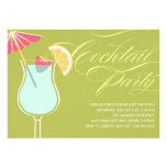 SUMMER COCKTAILS | PARTY INVITATION