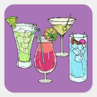 Summer Cocktails stickers