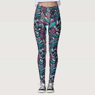 Summer Colorful Boho Style Women's Leggings