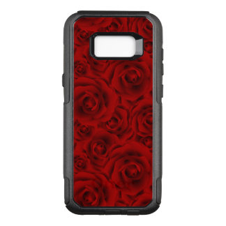 Summer colorful pattern rose OtterBox commuter samsung galaxy s8+ case