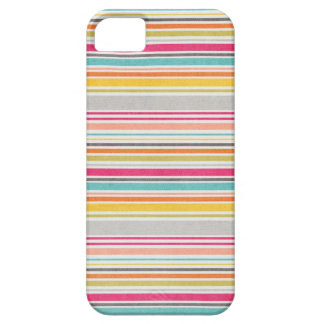Summer colors stripes pattern case for the iPhone 5