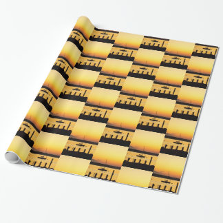 Summer Colors Wrapping Paper