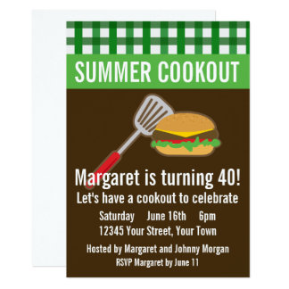 Summer Cookout Card