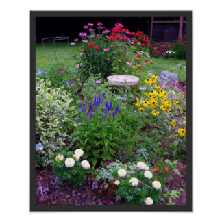 Summer Cottage Garden Photography Print