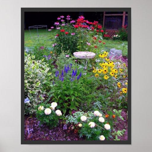 Summer Cottage Garden Photography Print