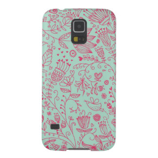 Summer cute floral pattern galaxy s5 cases