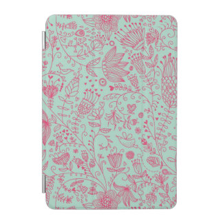 Summer cute floral pattern iPad mini cover