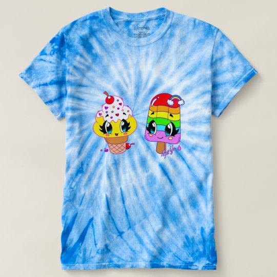 Summer Cute Treats Art Tie Dye Shirt