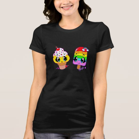 Summer Cute Treats Women's Slim Fit T-shirt