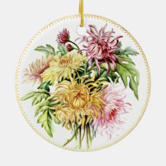 Summer Dahlias Ornament