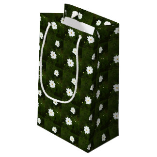 Summer Daisies Gift Bag - Small, Glossy