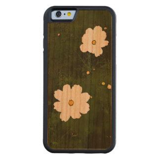 Summer Daisies iPhone 6 Bumper Cherry Wood Case