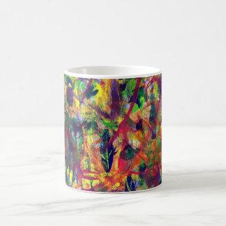 """Summer Dance"" Acrylic Painting Coffee Mug"