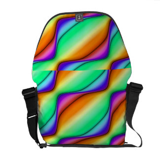 Summer Day Abstract Courier Bags