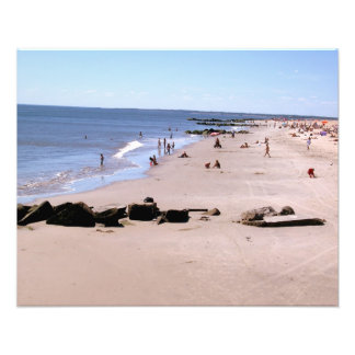 'Summer Day at the Beach'  Photographic Print