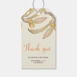 Summer Day | Botanical Wedding Favor Gift Tags