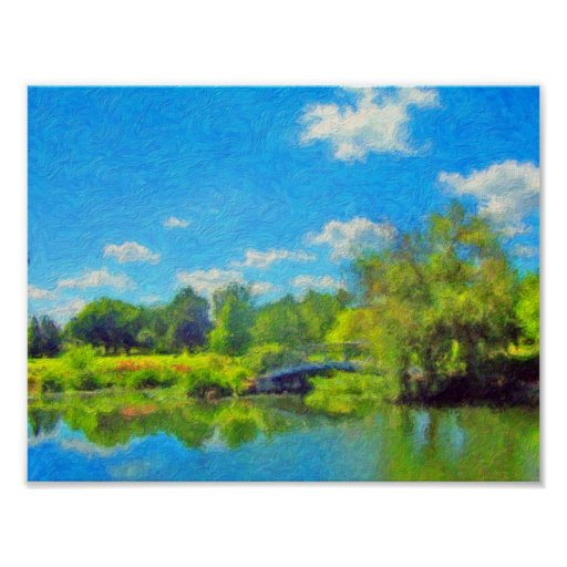 Summer Day in the Park by David Wagner Posters