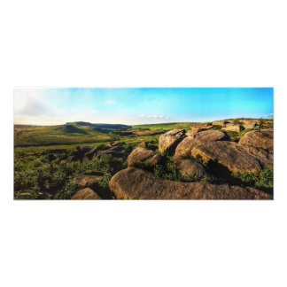 Summer Day in the Peak District Photo Print