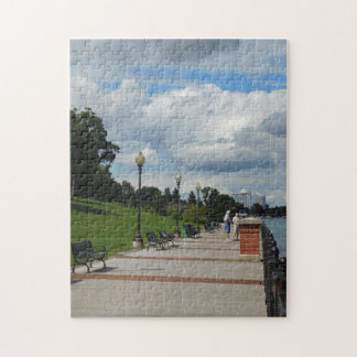 Summer Day on the River Jigsaw Puzzle