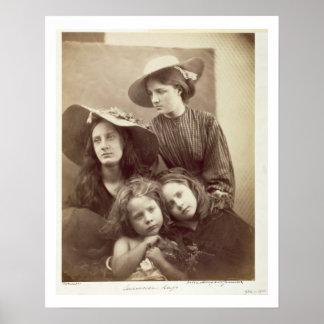 Summer Days, c.1866 (albumen print from a collodio