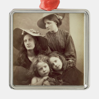 Summer Days, c.1866 (albumen print from a collodio Christmas Ornament
