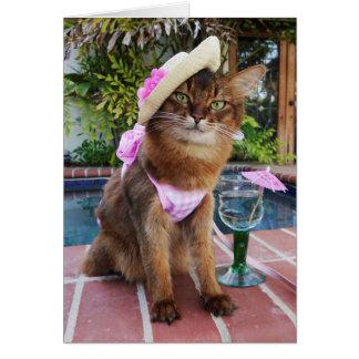 Summer Days Featuring Summer the Cat Card